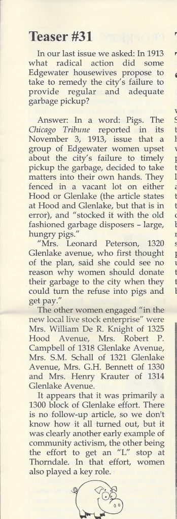 1913 Glenlake Hood housewives
